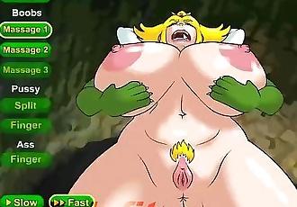 Princess Peach Prison Escape Hentai Game