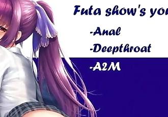 Hantai JOI Anal - Futa Shows you Anal Love