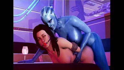 Mass Effect - Bang Liara TSoni - 23 min
