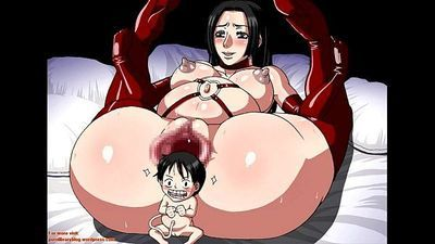 Prison Pleasure - One Piece Extreme Erotic Manga Slideshow - 4 min