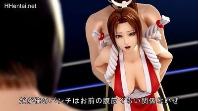 Mai King of Fighters - Full clip: http://hhentai.net/doujinshi-hentai/id-83.html - 11 min
