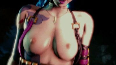 Jinx Blowjob And Get Fucked Hard - 46 sec