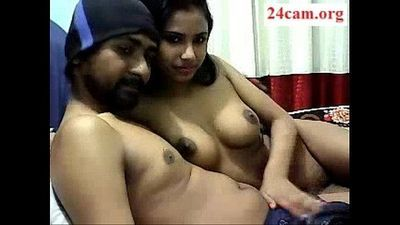 Super Hot Desi Couple Sex - 24Cam.org - 13 min