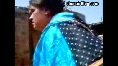 indian village girl sucking - 4 min