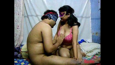 Cock riding porn scene with Indian wife Savita Bhabhi Indian - 3 min