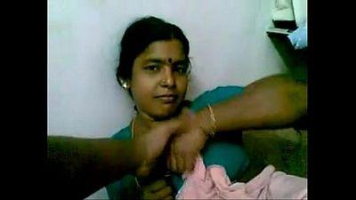 Indian Mature Black Maid teasing her master - 6 min