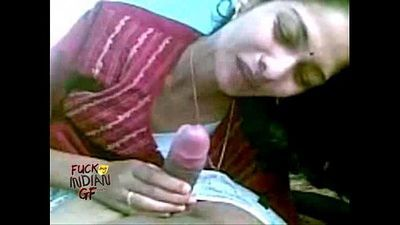 indian wife sucking giving her man a blowjob in indian sex video mms - 1 min 4 sec
