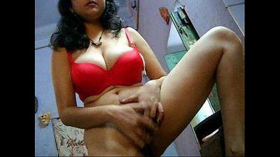 Bengali Bhabhi Savita Masturbating Fingering Her Hairy Indian Pussy - 1 min 36 sec