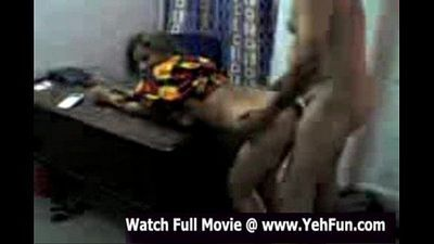 desi girl with hindi audio fucking in a office while other girl watching - 3 min