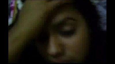 Bangla girl Sahana fucked by BF riding n missonary - 4 min