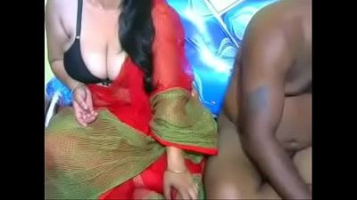 Hot desi couple webcam show - HornySlutCams.com - 19 min