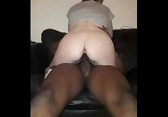 Teen sub Sucks BBC Hard then Gets Pink Pussy Stretched and Pounded