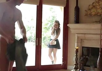 Horny and lovable Gabriella Ford gets fucked by her dads friend