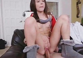 Pretty Teen Kharlie Stone Roughly Pounded By Bald Dude