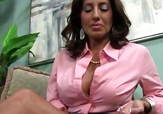 Busty MILF Tara Holiday and Teen Chastity Lynn Fuck a Big Black Cock