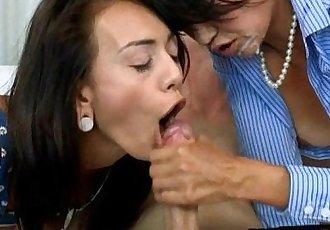 Teen slut Janice Graffith threeway with Milf Dana Vespoli