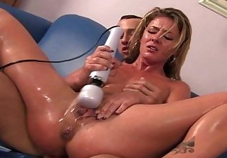 Slutty pornstar Sheena Shaw pays off debt with pussy