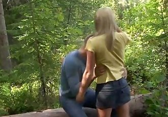 Casual Teen SexHitchhiker fucked in the woodsHD