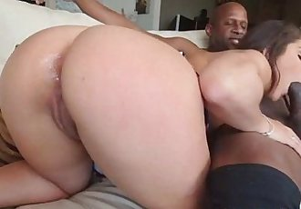 Sweet hot babe Abella Danger fucking a huge cock