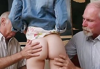 Redhead Teen Dolly Little Fucks With Lucky GrandpaHD
