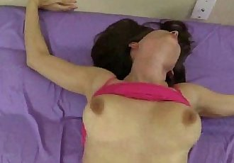 Lelu Love Lays Back For A Hard Pounding