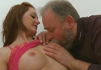 Old Goes YoungElizaveta is obsessed with older men