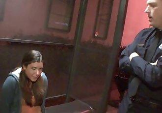 Bad Girl Teen Fucks A Cop!
