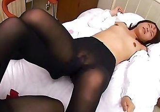 japanese lesbian nylon foot job