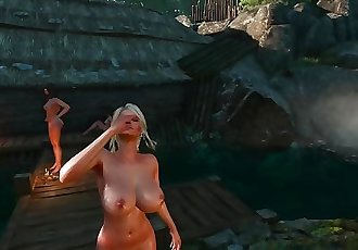 The Witcher - Ciri with XXL Boobs