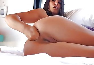 After shower private videochat with Danika Mori