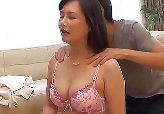 Japanese Mama And Son Do Yoga Yoga Exercises 11 min 720p