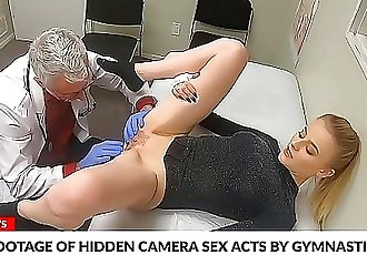 FCK NewsLeaked Footage Of Doctor Fucking His Blonde Patient 10 min 720p