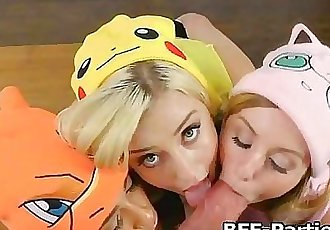 PokeHoes caught and fucked on video 5 min