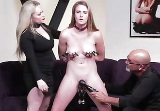 Submission with Ashley Lane and Aiden Starr