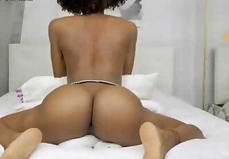Big Booty Teen Humps Pillow till Intense Orgasm-- just to Show you how id Ride your Cock