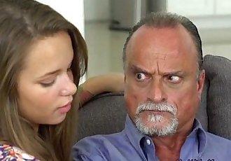 Teen Liza Rowe Loves Big Cock Of Fathers Friend