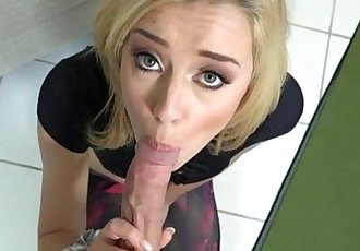 Small tits blond stepsis Haley Reed fuck