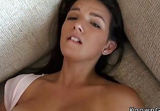 Huge tits girlfriend fucking homemade povHD