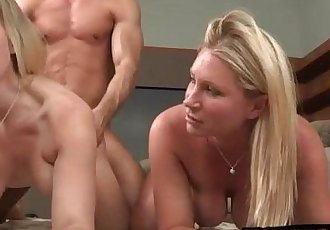 Devon Lee and Britney Young amazing 3way