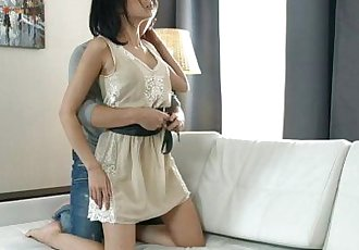 Beautiful Teen Girl Tries Anal With Her Boyfriend! in 4KHD