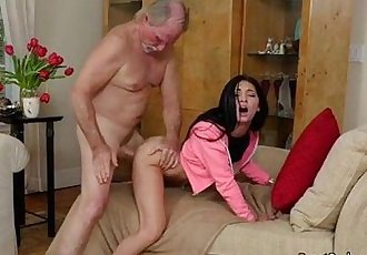 Teen Crystal Rae Gets Doggystyled And Facialized