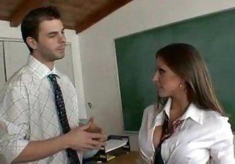 Rachel Roxxx as a sexy school girl