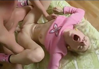 Anal Sex With Horny Russian Blonde