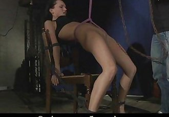 Anabell feels the painful prelude of bdsm fuckingHD