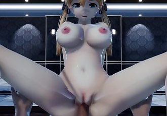 MMD DONUT HOLE Prinz cosplay Mirai Akari