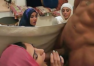 Muslim besties dirty bachelorette party with a stripper 8 min HD