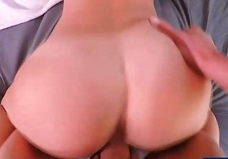 Petite and brunette Dillion gets fucked by sweetheart in 3D audio