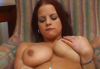 Big tit euro slut pussy rubbing