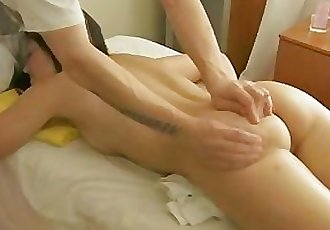 Firstly he will massage her and then he`ll proceed to her pussy