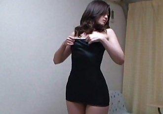 Japanese Babe Aki Kawana Sexy Lingerie - 1 min 34 sec
